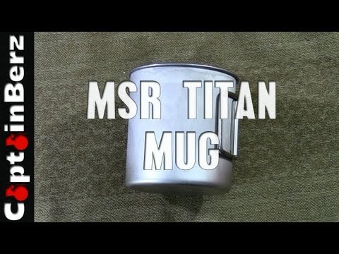 MSR Titan Cup (Backpacking, Camping, Hiking)