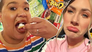 Best Friends Swap Diets For A Week •Jazz and Lindsay