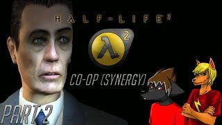 Bullets Outweigh a Crowbar | Half-Life 2 Synergy Co-Op - Part 2