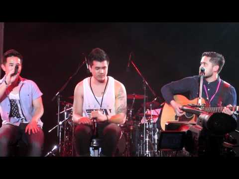 Jason Chen and Joseph Vincent - Just a Dream (Cover) - Youtube Stars Concert Singapore May 4th 2012
