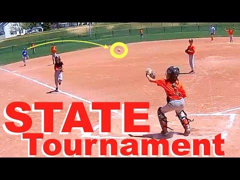 LITTLE LEAGUE BASEBALL State Tournament! GAME 1⚾️