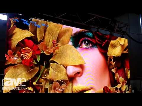 Integrate 2016: Big Screen Video Exhibits Ultra-Black High Contrast LED Displays