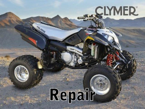 Clymer Manuals Polaris Predator 500 ATV Repair Service Shop Quad Four Wheeler Manual Video