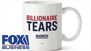 Warren campaign selling 'billionaire tears' branded mugs