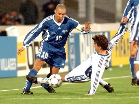 Ronaldo vs Europe All Stars 1998 ( World XI vs Europe XI )