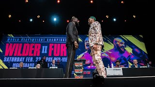 Wilder vs Fury II - Press Conference