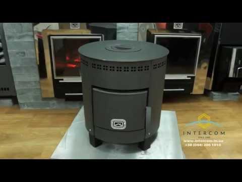 Реактивная печь для гаража своими руками