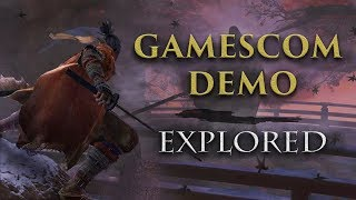 Our First Look at Sekiro: Shadows Die Twice! ► Gamescom 2018