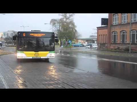 MZK Jazda Różnych Autobusów W Zielonej Górze