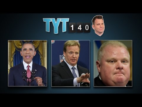 Obama Address, Mueller Investigates, Ford Tumor & Satan Erection | TYT140 (September 11, 2014)