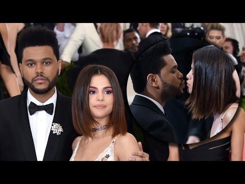 "Selena Gomez & The Weeknd Make Red Carpet Debut & Whisper ""I Love You"" At 2017 Met Gala thumbnail"