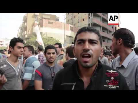Reaction from Morsi's hometown; clashes in Assiut Province