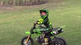 Kids Dirt Bike With Training Wheels