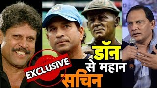 Bradman vs Tendulkar: Kapil and Azhar Feel Tendulkar's Impact on Cricket Greater I Vikrant Gupta