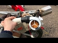 $50 Pocket Bike Turbo Install and Test Ride