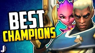 Paladins Best Champion for Each Class | Sun & Moon Patch