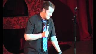 Stand-up Jason Cook at Dave's Leicester Comedy Festival Preview Show