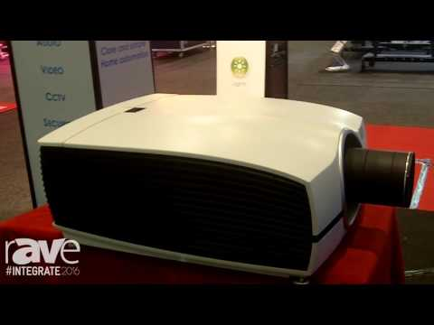 Integrate 2016: Barco Shows the Loki Home Cinema Projector on the Network Audio Visual Stand