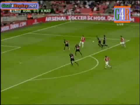 [HD] Arsenal vs Atletico Madrid 2-1 Emirates Cup 09 Full Match Highlights & All The Goals (01-08-09)