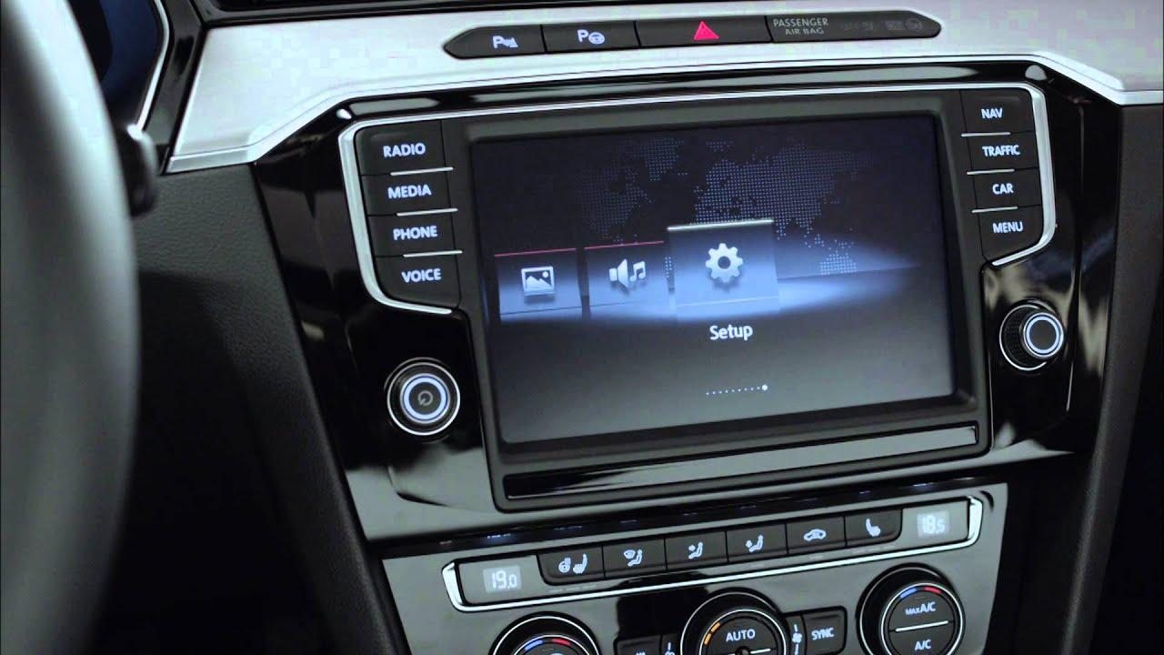 2015 VW Passat Interior - YouTube