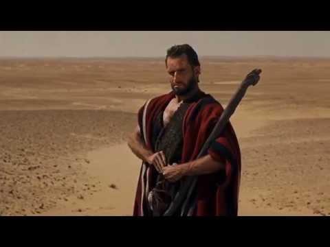 Os Dez Mandamentos - Moisés e o Deserto