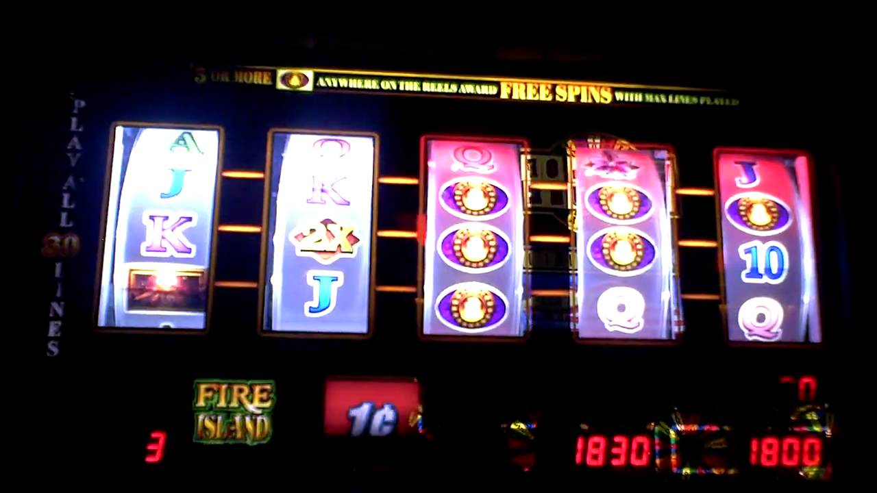 list of all slot machines at mohegan sun events