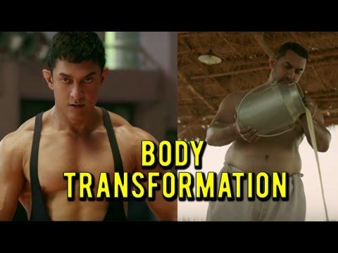 Dangal Trailer : Aamir Khan's Body Transformation   Beefed Up Wrestler To Old Man thumbnail