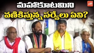 Mahakutami Fears About Survey's | CM KCR | Telangana Congress | Early Elections