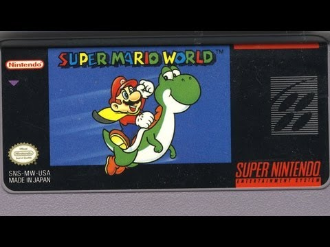 Classic Game Room - SUPER MARIO WORLD review for SNES