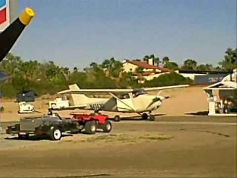 Private Pilot check ride 20091018@Sun Valley AZ