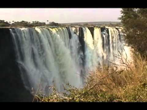 Spectacular Victoria Falls from the Zimbabwe side
