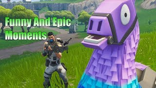 Funny and Epic Moments #27 - Fortnite Battle Royale
