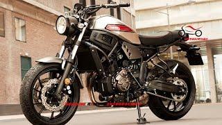 All New 2019 Yamaha XSR700 Matt Grey | 2019 Yamaha Sport Heritage | 2019 Yamaha XSR700 First Look
