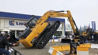 LiuGong 924E Excavator Show At Bauma 2019