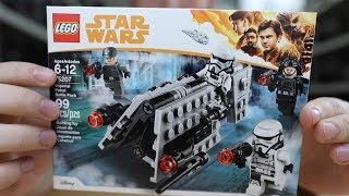 LEGO Star Wars Imperial Patrol Battle Pack REVIEW - 75207