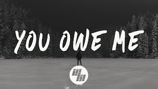 The Chainsmokers - You Owe Me (Lyrics / Lyric Video) Spirix Remix