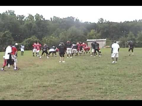 Leonard Hall Jr Naval Academy vs Friendly High Scrimmage
