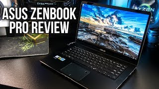 ASUS ZenBook Pro Laptop Review and Benchmarks