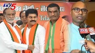 తెలంగాణాలో జోరందుకున్న వలసలు..! | BJP Leaders Fires On TDP