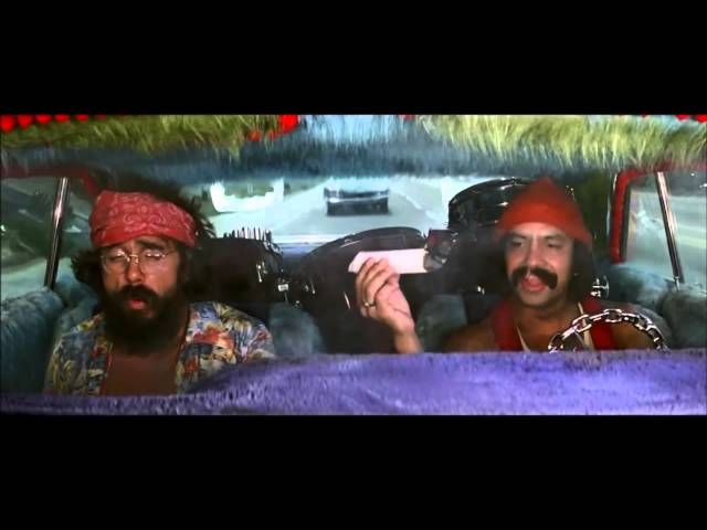 Cheech & Chong - Huge Joint Scene