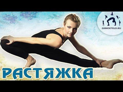 Уроки стретчинга для начинающих - видео