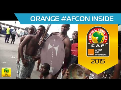 What happened in the stadium before Côte D'Ivoire vs Ghana - Orange Africa Cup of Nations, EQG 2015