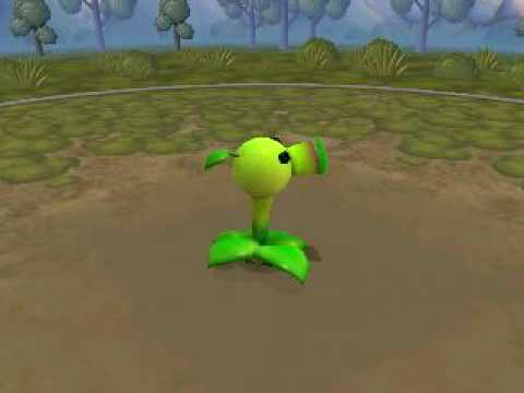 SPORE: Peashooter from Plants vs. zombies ! Music Videos