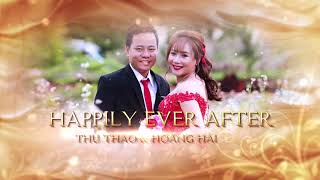 Clip ảnh cưới Wedding After Effect