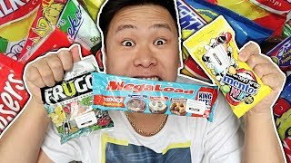 YOU SHOULD NEVER EAT THIS MUCH CANDY!! *regret*