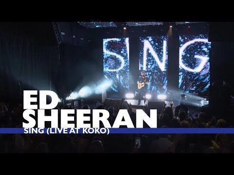 download lagu Ed Sheeran - `sing` Live At Capital Up Close gratis