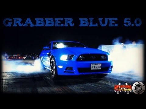 Grabber Blue 5.0 at San Antonio Raceway Midnight Madness