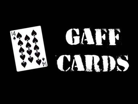 How to make Gimmick cards / Como hacer cartas trucadas