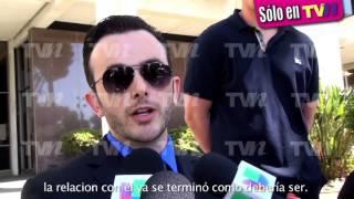 Ex novio de Christian Chávez hace fuertes declaraciones