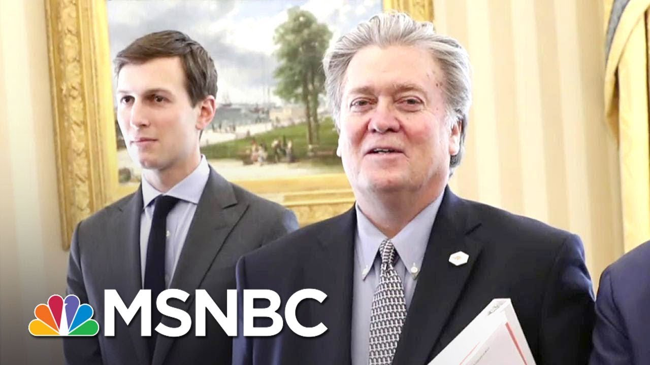 Steve Bannon: Charlottesville Reaction A 'Defining Moment' For Donald Trump | The 11th Hour | MSNBC
